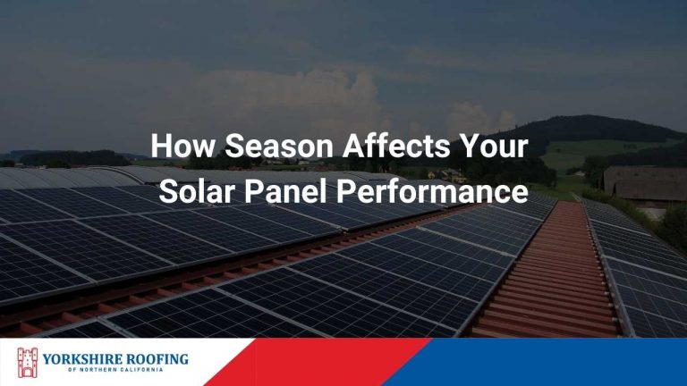 How Season Affects Your Solar Panel Performance